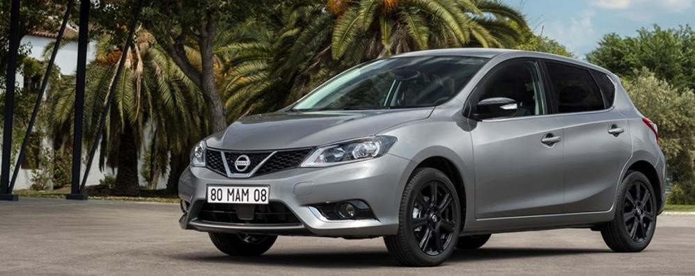 Nissan Pulsar Black Edition punta tutto sull'eleganza
