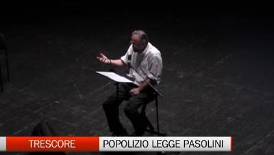 Trescore. Massimo Popolizio legge Pasolini