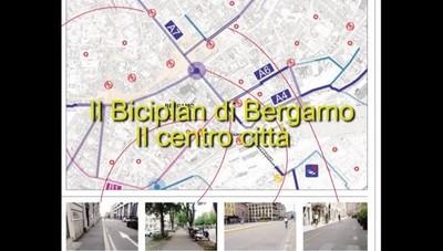 Biciplan, il centro di Bergamo