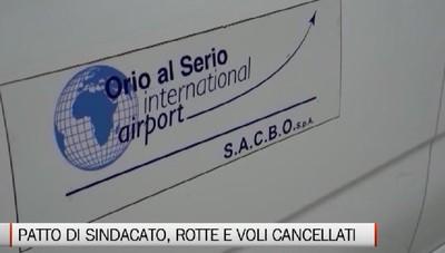 Patto di sindacato Sacbo, fra rotte e voli cancellati