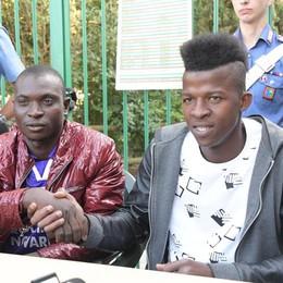 Fontanella, parlano i due profughi «Così abbiamo fermato l'aggressore»