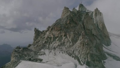 Filippo Colnaghi sul Monte Bianco