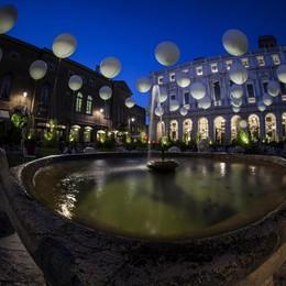 Piazza Vecchia in una bolla