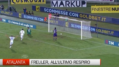 Fiorentina-Atalanta 1-1, Freuler all'ultimo secondo