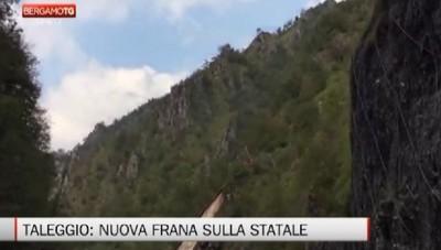 Il sindaco di Taleggio Alberto Mazzoleni commenta la frana