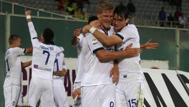 Atalanta, la forza della squadra Ventidue in campo, 8 in goal