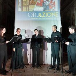 A Tavernola va in scena «Orazione» Omaggio in musica a San Bernardino
