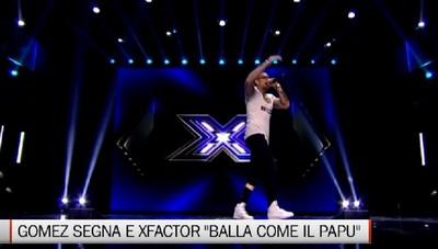 Gomez segna, e XFactor Baila como el Papu