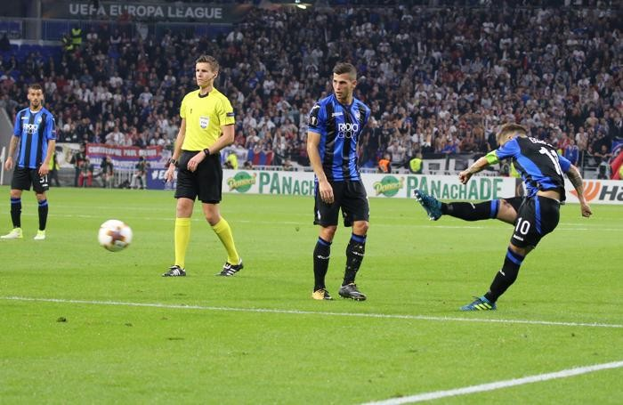 Europa League, Gomez gol: è pari d'oro per l'Atalanta a Lione