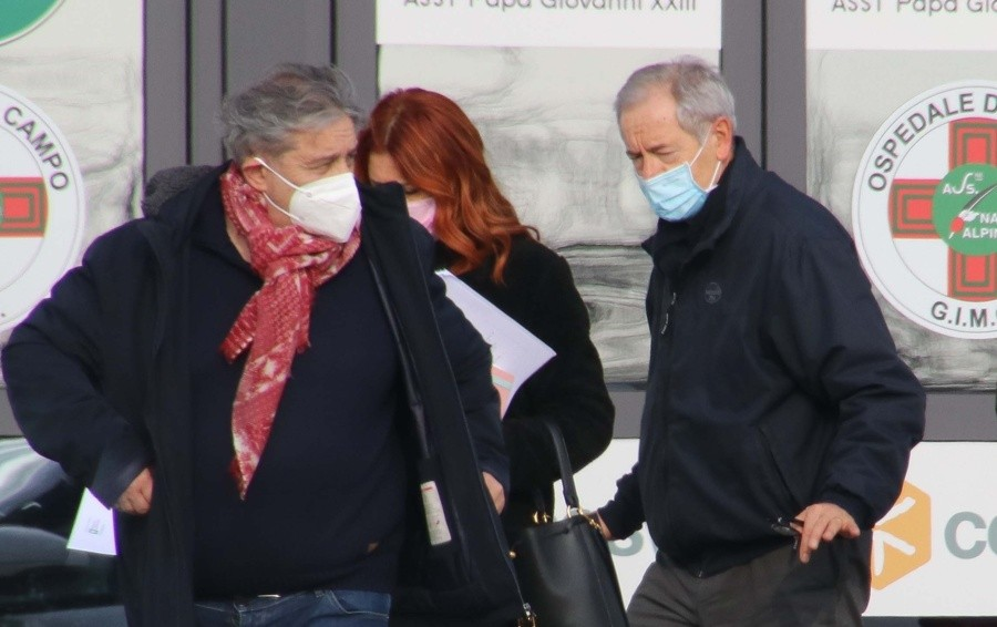 Sopralluogo di Bertolaso a Bergamo «Verifica per un hub vaccinale in Fiera»