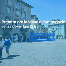 «PrenotaBergamo» si amplia Dai negozi ai servizi comunali