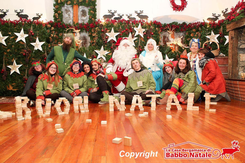 A Lovere la casa di Babbo Natale