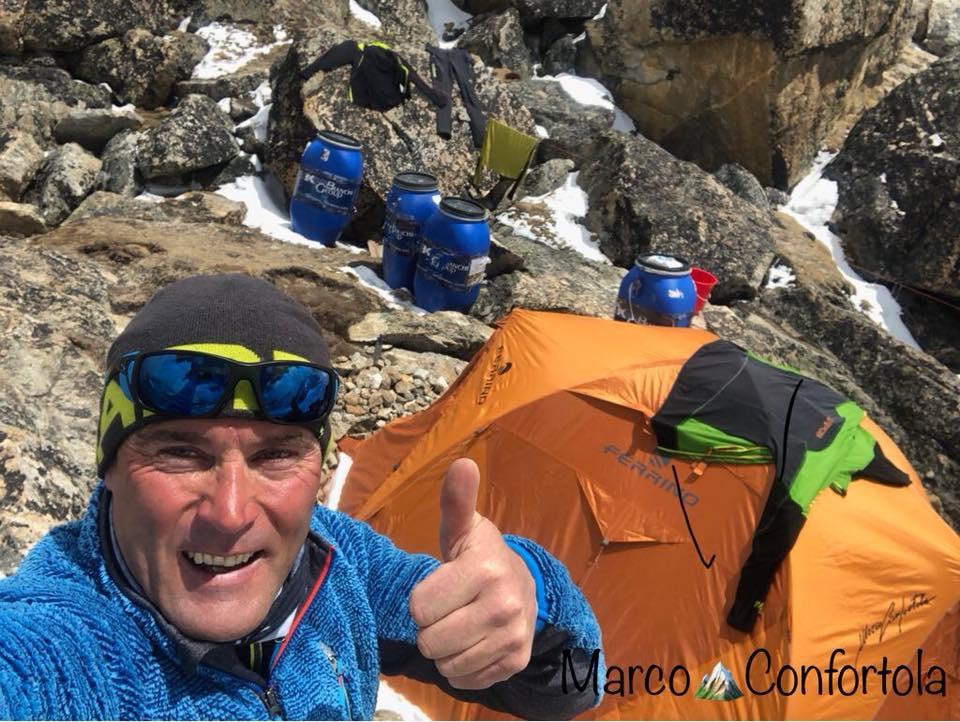 Marco Confortola ricorda il K2