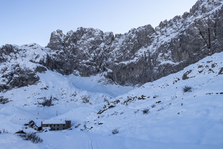 Raduno rifugio Albani per scialpinisti e ciaspolatori