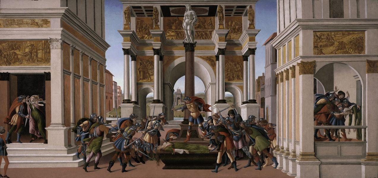 Le storie di Botticelli in mostra a Bergamo