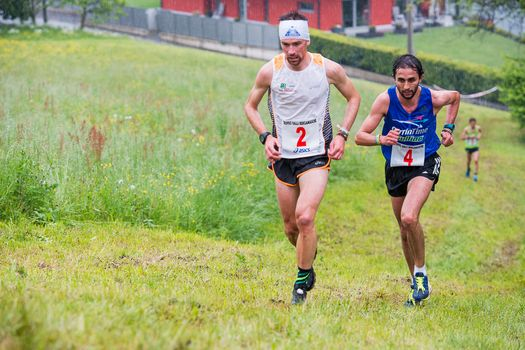 Corsa in montagna,15.o trofeo Valli bergamasche