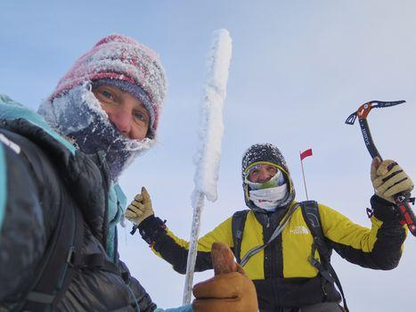 Simone Moro racconta il freddo siberiano