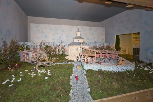 Cerete ricostruisce San Tomè in miniatura