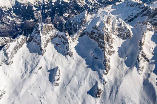 La Valtellina vista dal cielo