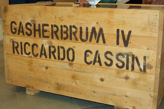 Il Ragno Daniele Bernasconi al Gasherbrum IV