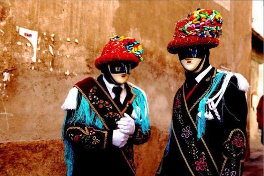 Il Carnevale bagosso, con i balarì e i maschèr