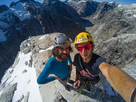 Vetta in Patagonia per i Ragni Paolo Marazzi e Luca Schiera