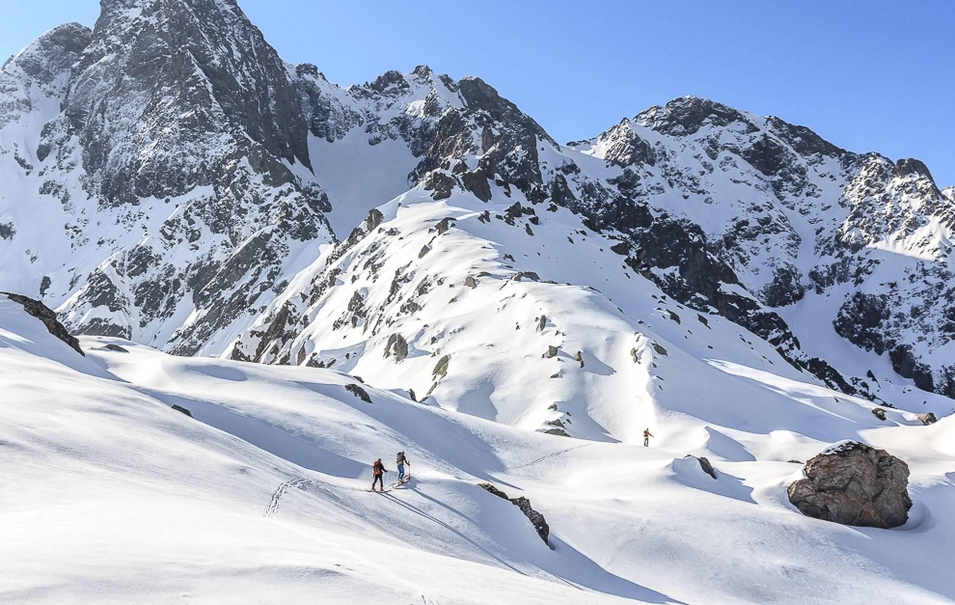 Pizzo di Faila, scialpinismo in Val d'Arigna