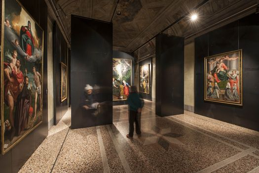 La pittura di Cavagna al Bernareggi, guarda l'intervista al curatore