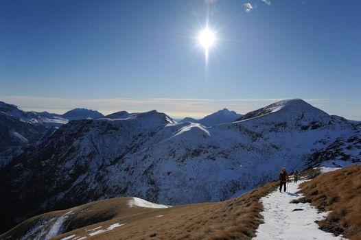 La Dol d'inverno: da Introbio al rifugio Grassi