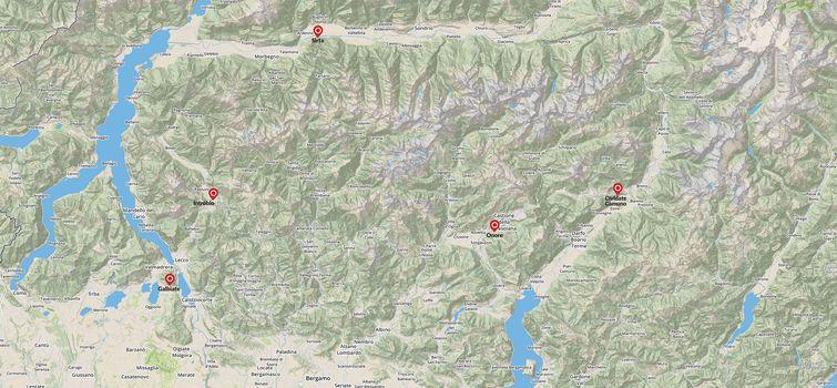 Il 30 settembre arrampicare in falesia  con le guide alpine della Lombardia