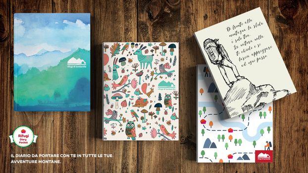 Rifugi di Lombardia regala Diary pocket