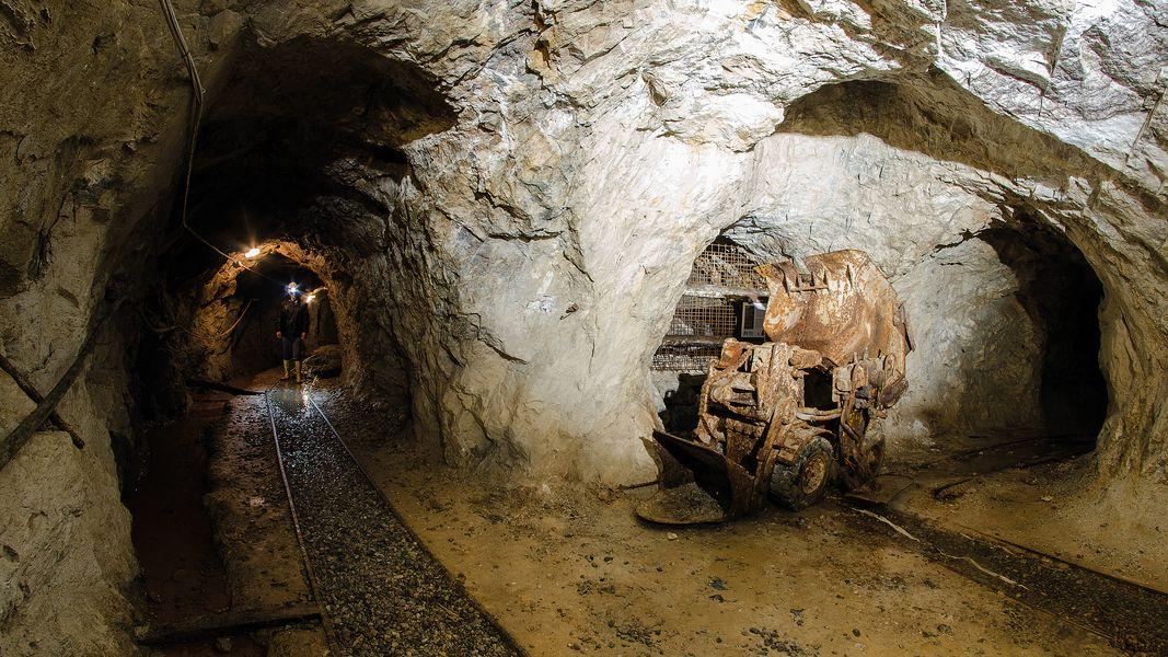 Nelle miniere di Cortabbio