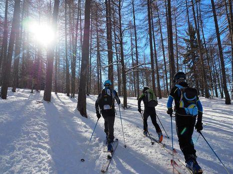 Corso di scialpinismo del Cai di Lecco. E' il 51° anno