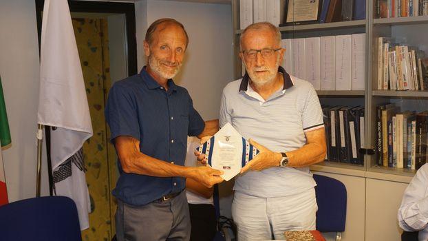 Il Cai Bergamo premia Capellini