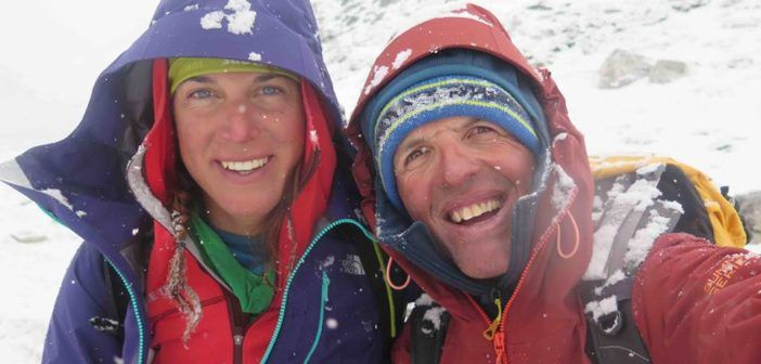 Simone Moro e Tamara Lunger, la lunga via del ritorno