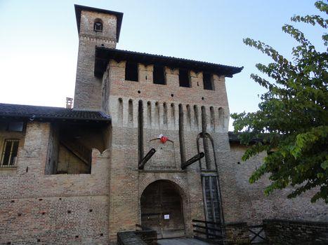 Ologramma dei condottieri a Pagazzano