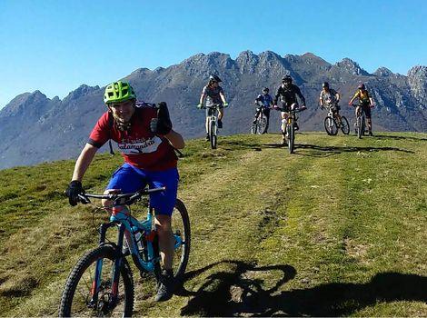 Cicloescursionismo, raduno Cai in Val Brembana