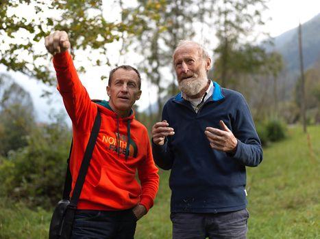 Denis Urubko e Mario Curnis, amicizia tra le vette