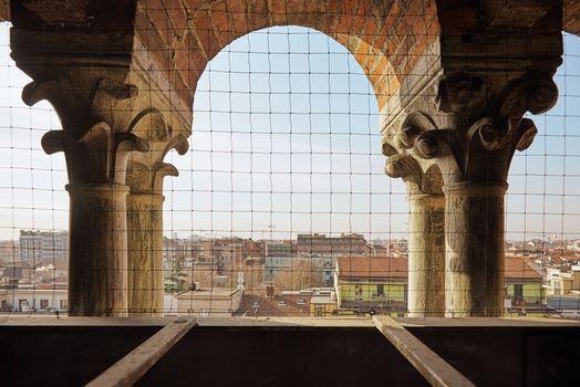 Milano, sul campanile dei sospiri