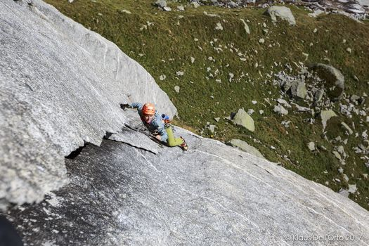 Klaus Dell'Orto, climber a colpi di click
