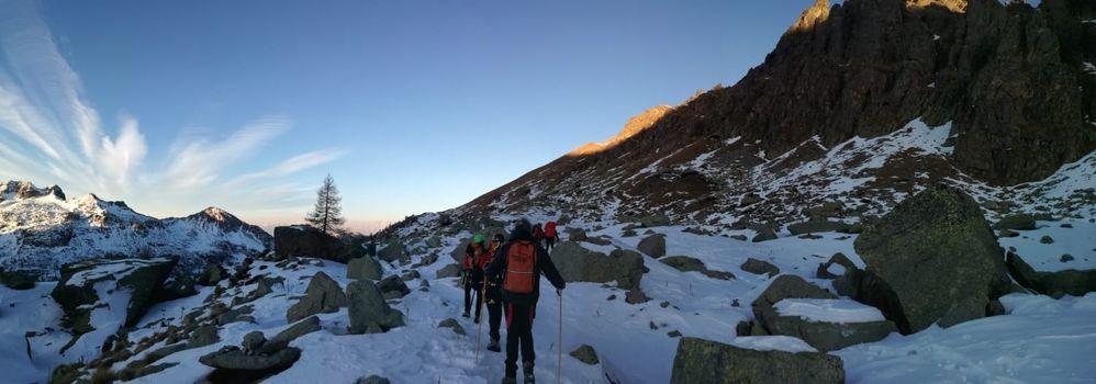 Pericolo ghiaccio in montagna