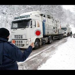 Neve in Valbormida, disagi su strade