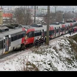 Scontro treni Vienna, 5 feriti gravi