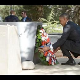 Mo: Obama rende omaggio a tomba Rabin
