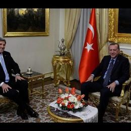 Segretario Usa Kerry in Turchia
