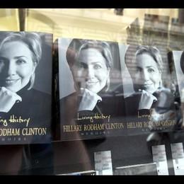 Giugno 2014 nuovo libro memorie Hillary