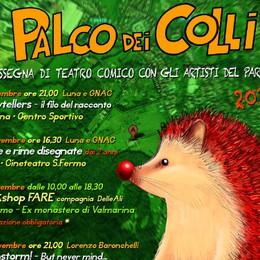 Palco dei Colli, la 3ª edizione Sei spettacoli in un mese