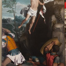 La Resurrezione del Moroni  torna al suo posto dopo il restauro