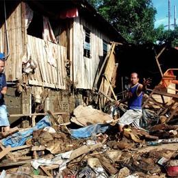 Tifone Haiyan nelle Filippine  Aperta una sottoscrizione  Caritas