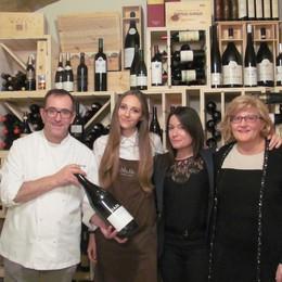 I piatti di Stefanetti  abbinati ai vini Gaja